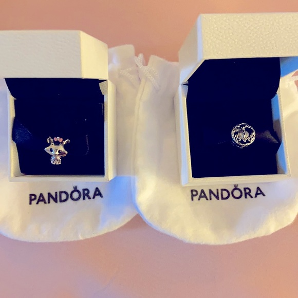 Disney Pandora Cinderella Pumpkin Marie Aristocats